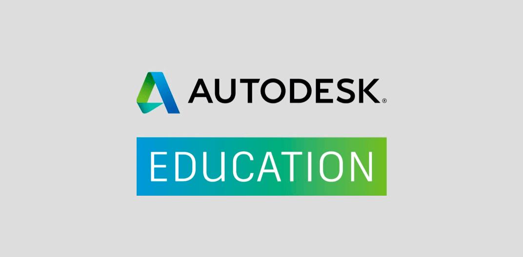 学生、教員、教育機関の方はオートデスクのソフトウェアを無償で利用できます